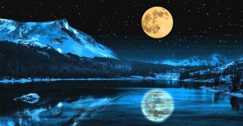 Full moon of virgin