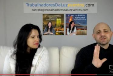 Abraham em português – canalização ao vivo por Luciana Attorresi – 23 abril 2017