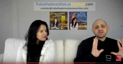 Abraham em português - canalização ao vivo por Luciana Attorresi - 23 abril 2017