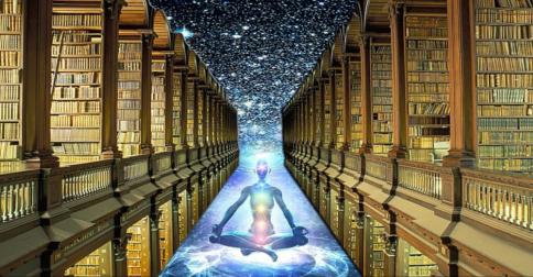 Em seu DNA se encontram os vastos registros akashicos da jornada de sua alma