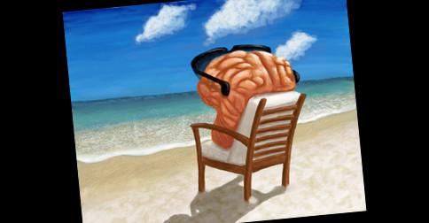 Férias para a sua mente
