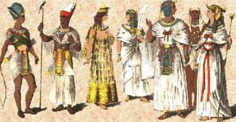 A diferença entre a realidade de hoje e a realidade do antigo Egito
