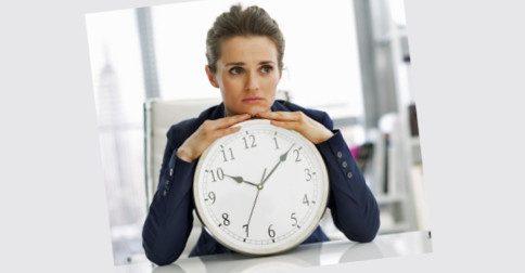 Não se preocupe tanto com o tempo, porque o bom do tempo é que sempre há mais tempo