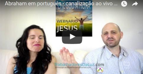 Abraham em português - canalização ao vivo por Luciana Attorresi - 6 agosto 2017