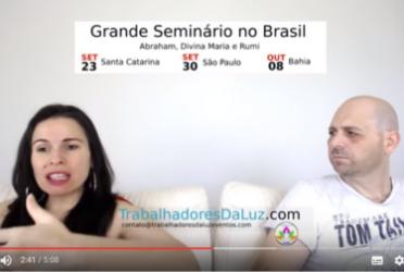 Abraham em português – Eles falam o que vai acontecer no éter dos seminários no Brasil