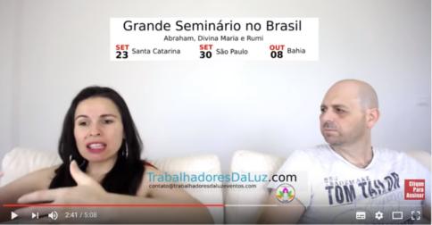Abraham em português - Eles falam o que vai acontecer no éter dos seminários no Brasil