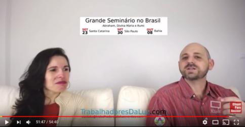 Abraham em português - canalização ao vivo por Luciana Attorresi - 10 setembro 2017