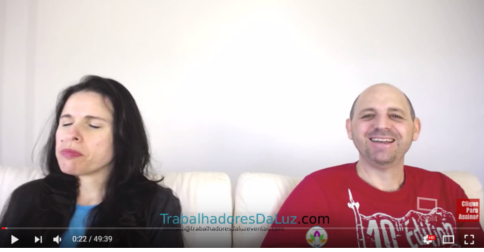 Abraham em português - canalização ao vivo por Luciana Attorresi - 17 setembro 2017
