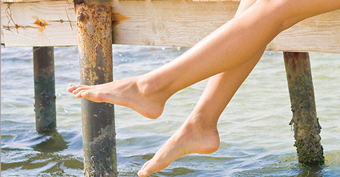 Desbloqueio do DNA em nossas pernas