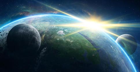 Dois movimentos muito diferentes e completamente integrados acontecendo na sagrada Terra