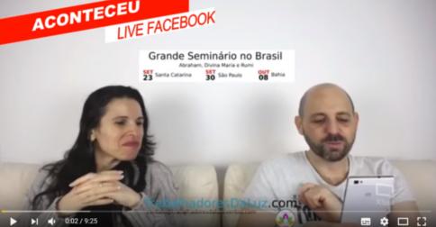 Reset Financeiro - Olha quem apareceu de surpresa em nossa Live do Facebook - PAPO DE QUINTA