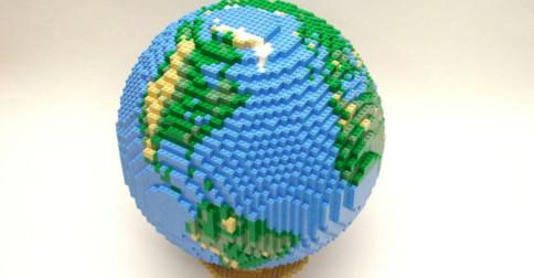 A nova Terra está sendo construída