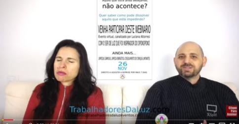 Abraham em português - canalizado por Luciana Attorresi - 19 de novembro 2017