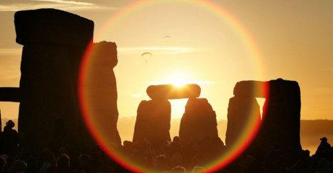 Solstício - Você está ciente de que está se aproximando no ponto do ciclo solar