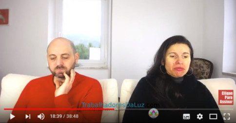 Abraham em português - canalização ao vivo por Luciana Attorresi - 7 janeiro 2018