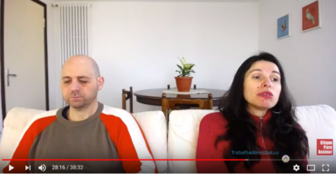 Abraham em português - canalização ao vivo por Luciana Attorresi - 11 fevereiro 2018
