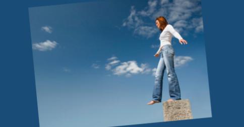 Você deve estar disposto a dar saltos de fé