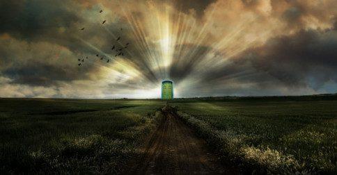 """A """"porta do céu"""" está se abrindo"""