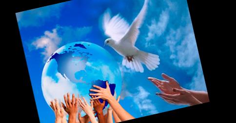 Paz na Terra, abundância infinita, saúde perfeita para toda a humanidade