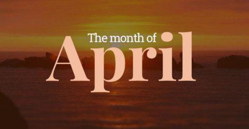 Energias para Abril - Ação Criativa
