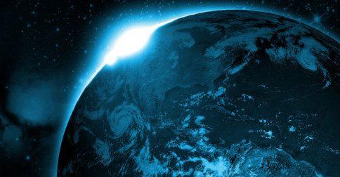 No nível planetário, a Terra está passando por um gigantesco upgrade galáctico