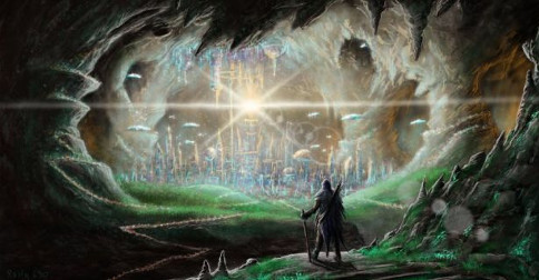 Se você fosse convidado por um intraterra você iria com ele para i interior do Planeta?