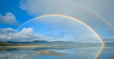 Somos a ponte para o arco-íris