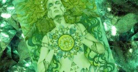 Um novo ser humano surge - Esmeralda Diamante