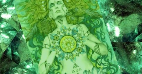 Um novo ser humano surge – Esmeralda Diamante