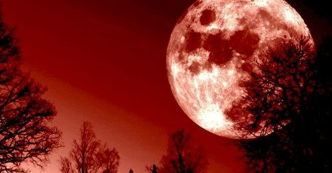 16 de julho - a poderosa Lua de sangue
