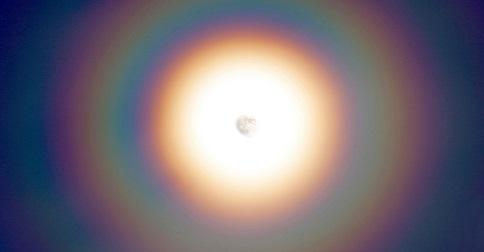 O arco-íris circular