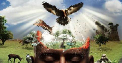 O mundo real é uma ideia espiritual dentro da mente de Deus