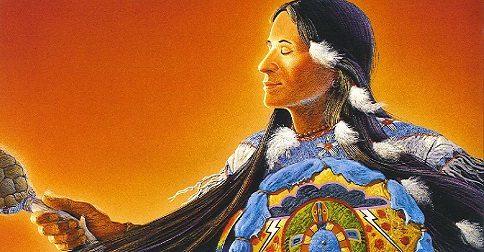 Curas xamânticas e crenças da tribo Secoya do Equador