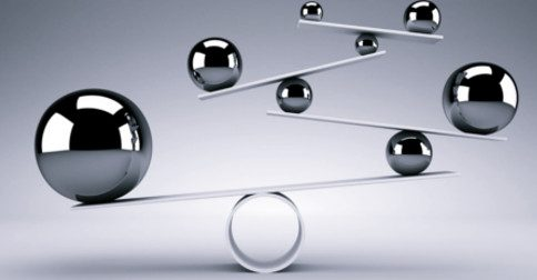 Tempos de encontrar o equilíbrio entre os mundos espiritual e físico