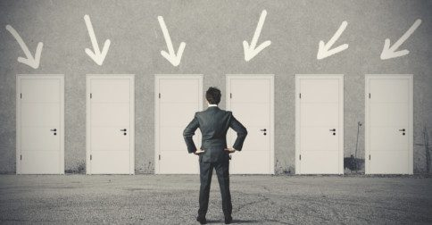 A vida é um processo de abrir portas