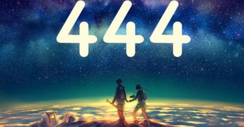 O que representa a sequência numérica 444