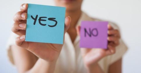 Agora é a hora de decidir