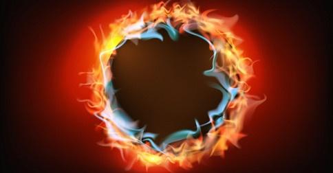 O Anel de fogo