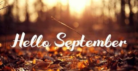 Setembro começará com uma nota de energia elevada