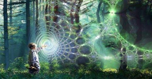 Sonhando interdimensionalmente