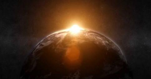 A Terra liberou uma enorme camada da velha matriz