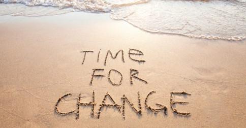 No ápice das mudanças