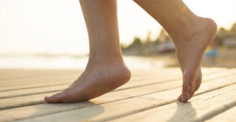 Os pés - o livro da vida