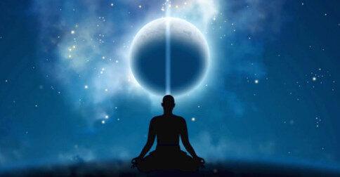 Defina uma forte intenção de se conectar com o seu super consciente