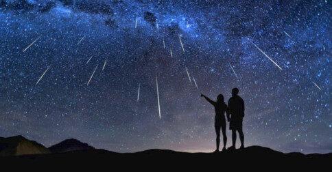 A Chuva de Meteoros Perseida ocorrendo de agora até 23 de agosto