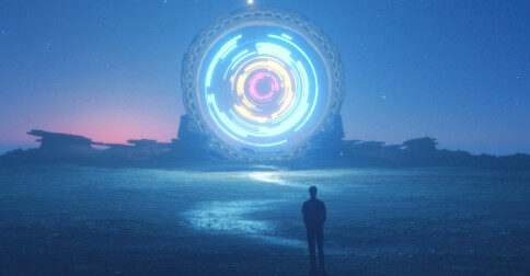 Um portal sagrado de emergência está se formando