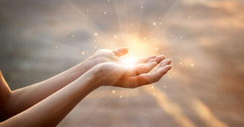 É através do seu livre arbítrio que você expande o amor em você